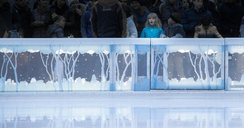 Excited To Ice Skate | © Geoff Alexander/Flickr