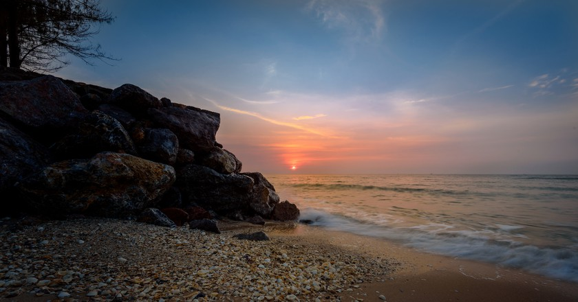 Sunrise on the Gulf of Thailand  | ©  Courtesy of Joe deSousa/Flickr