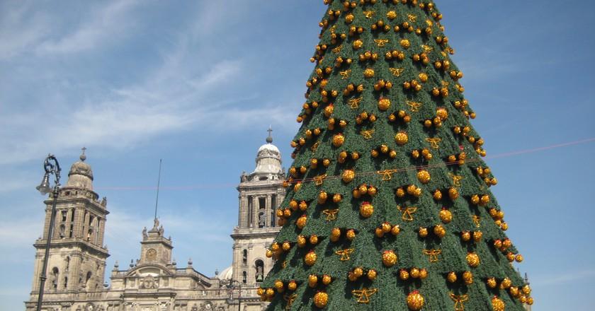 Christmas in the zocalo │ © Esparta Palma/Flickr