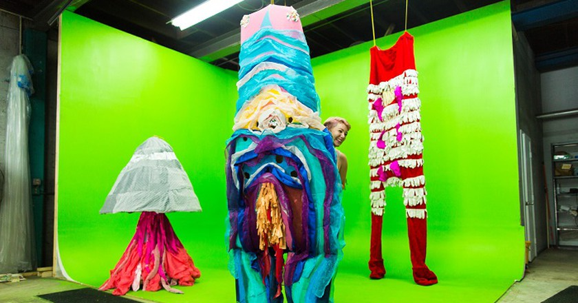 Artist Jen Stark, Installation View, Courtesy Photo | © Superfine!