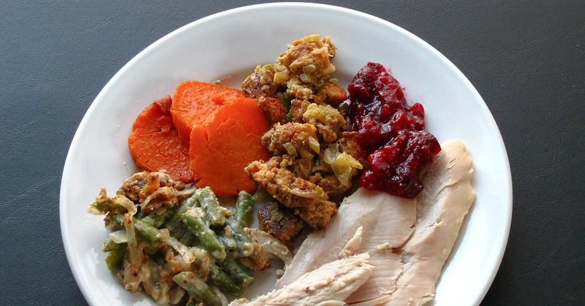 Thanksgiving dinner © Steve Johnson/Flickr