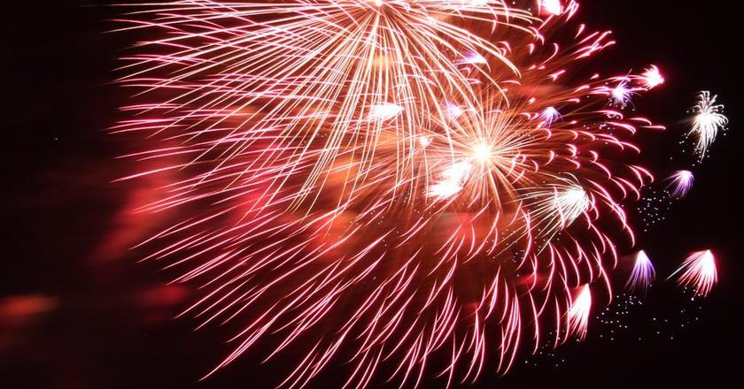 Fireworks on New Year's Eve, V&A Waterfront © Derek Keats/Flickr