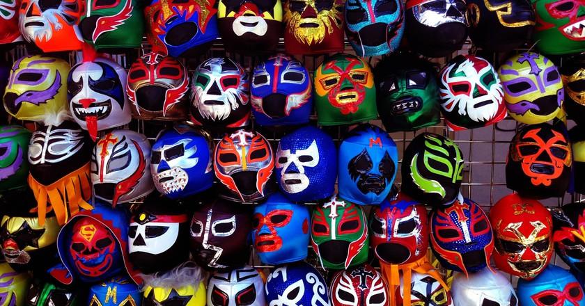 Lucha libre masks   © yameen9000/Flickr