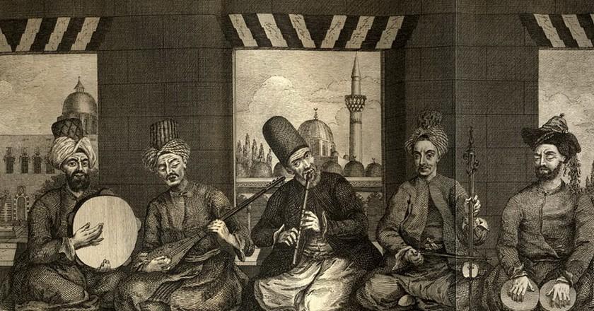 Ottoman Classical Music   Public Domain/WikiCommons