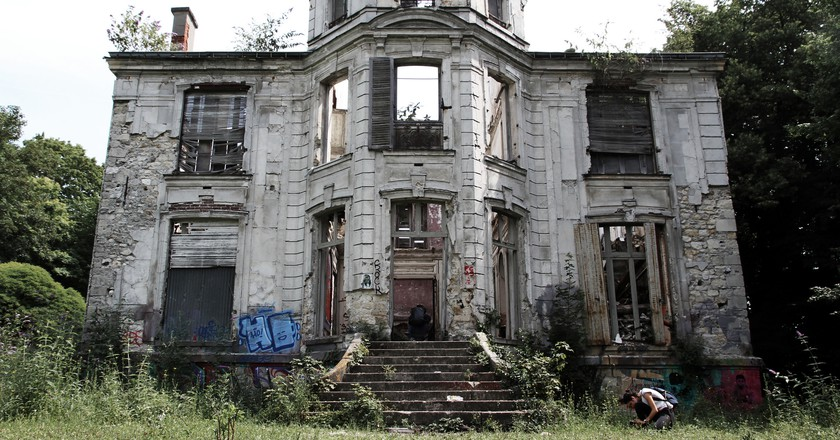 An abandoned building in Goussainville-Vieux Pays │© Sylvia Fredriksson