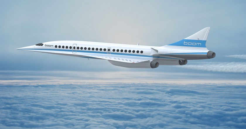Boom hopes to launch the supersonic passenger jet in 2023. | Courtesy Boom