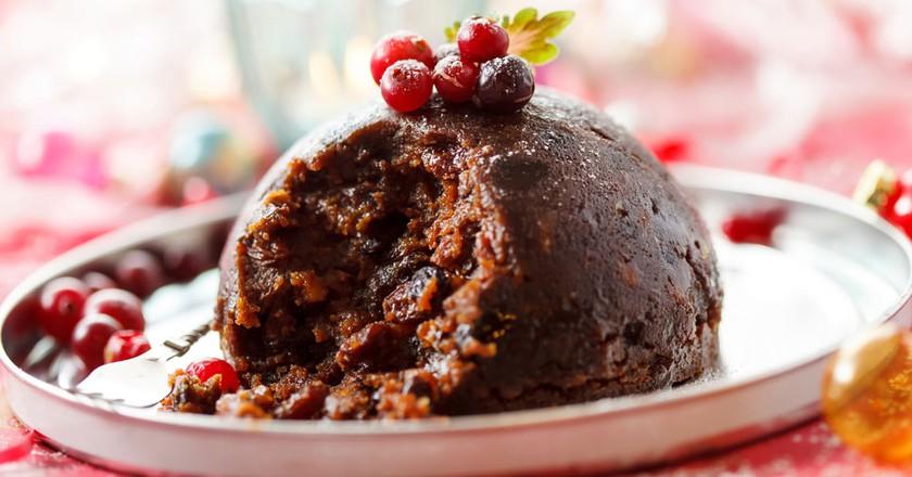 Christmas Pudding ©Shutterstock / Shebeko