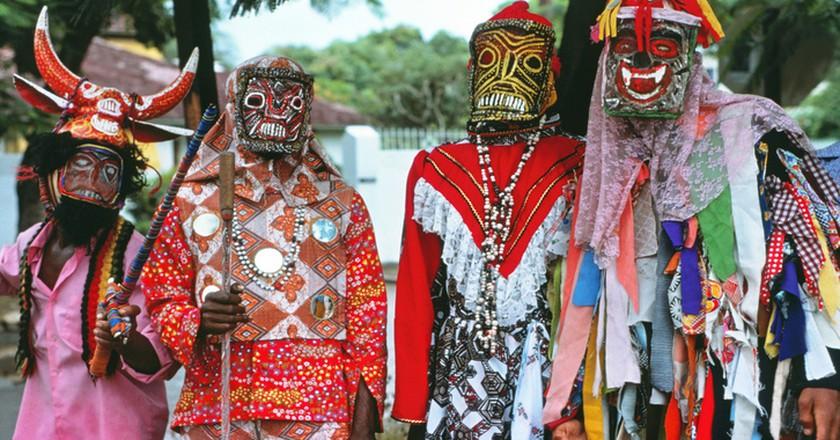 John Canoe Festival celebrants, Kingston, Jamaica |© WikiPedant/WikiCommons