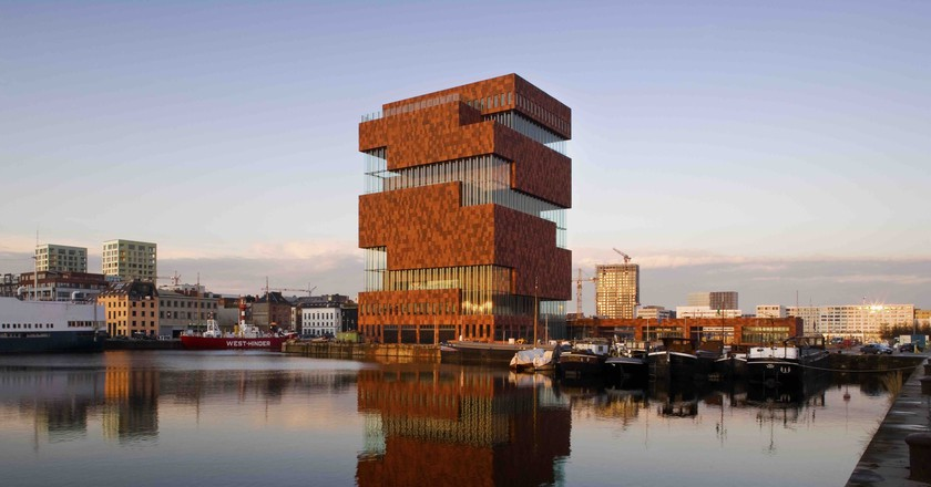 MAS | © Sarah Blee, Neutelings Riedijk Architecten/Courtesy of Visit Antwerp