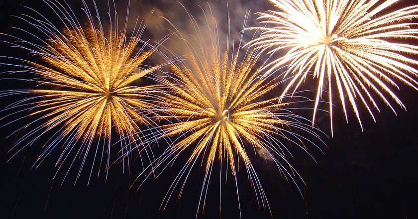 New Year's fireworks | © Ondrejk/WikiCommons