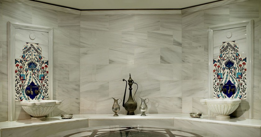 Hamam | Courtesy of the Ritz Carlton Istanbul