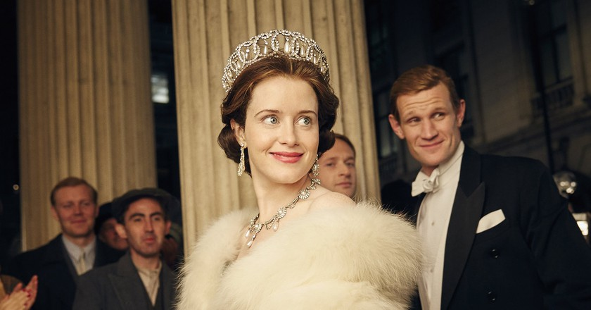 Claire Foy and Matt Smith in The Crown | © Alex Bailey/Netflix