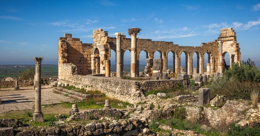 View of the Basilica, Volubilis, Morocco / © Maurizio De Mattei, Shutterstock