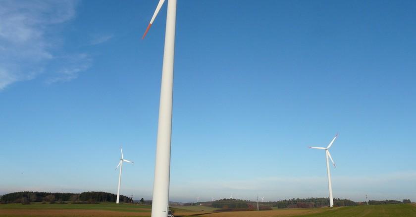 Wind turbines via Pixabay