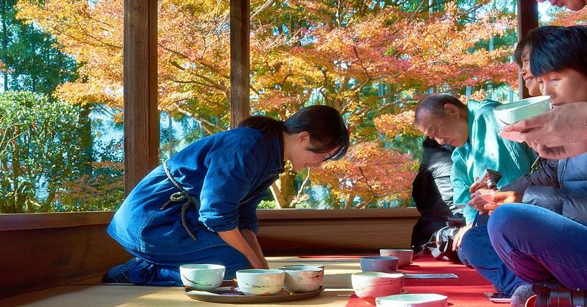 Japanese tea ceremony | © Moyan_Brenn/Flickr