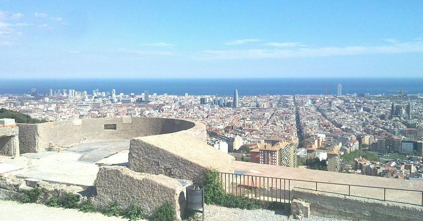 Bunkers del Carmel, Barcelona   ©Toniher/WikiCommons
