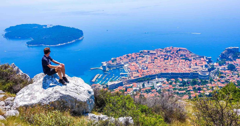 Bart in Dubrovnik   © Bart Lapers/courtesy of Bart.La-