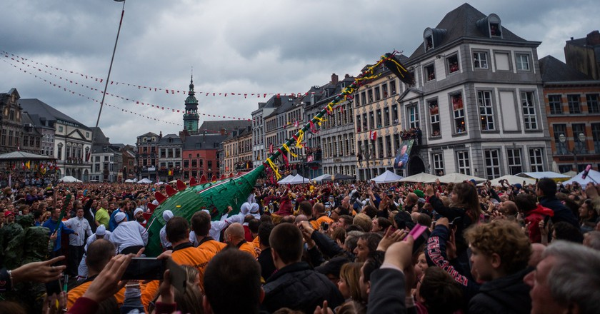 Mons' Ducasse or 'Doudou' festival | © David Taquin/Flickr