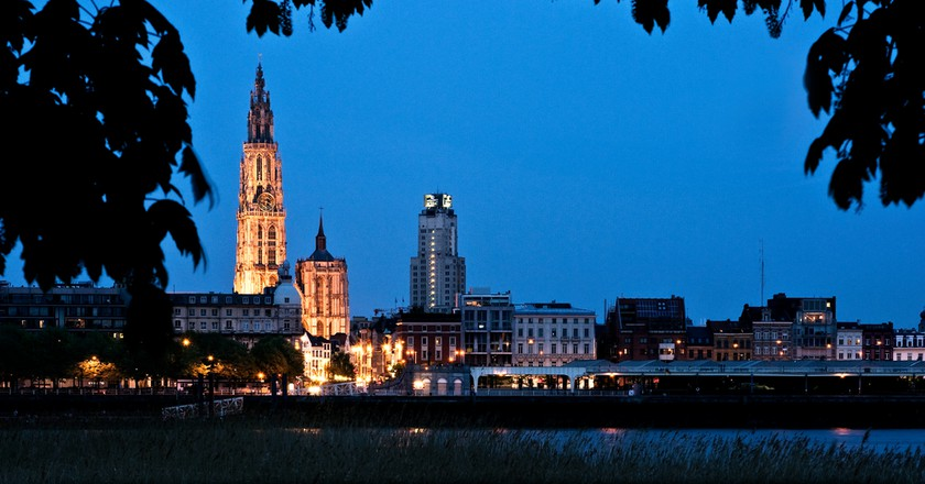 Skyline Antwerp | © Dave Van Laere/courtesy of Visit Antwerp