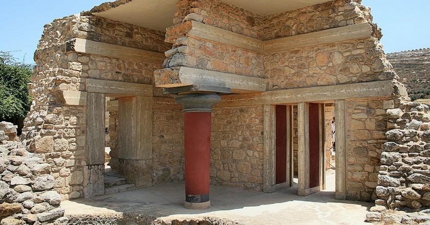 Minoan Palace of Knossos │© Lapplaender/WikiCommons