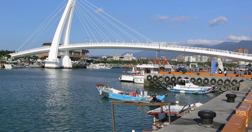 Lover's Bridge, Danshui | © Melonfly / Wikimedia