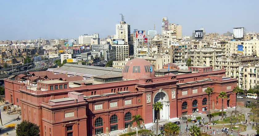 Egyptian Museum in Cairo © Wikimedia Commons
