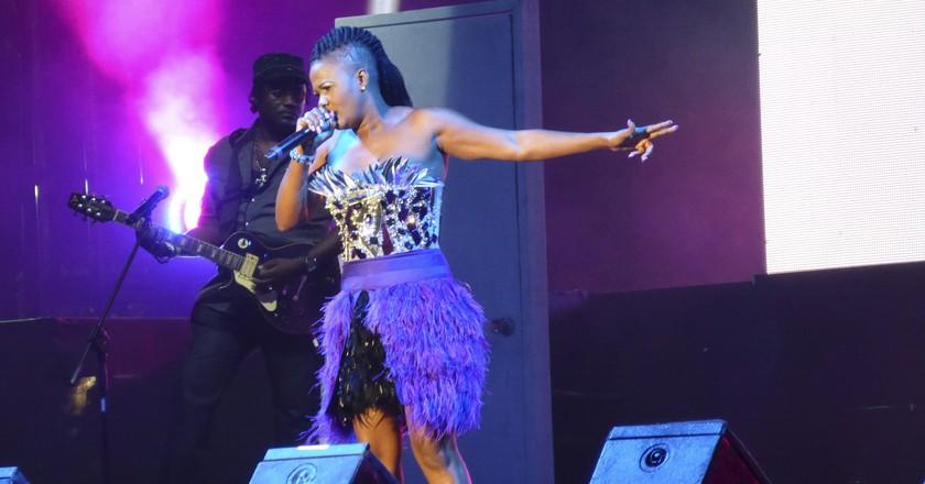Lady Saw Live @ Reggae Sumfest 2013 | © Beaver on the Beats/Flickr