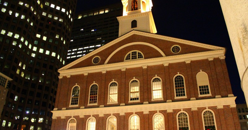 Faneuil Hall / Quincy Marketplace | © Todd Van Hoosear / Flickr