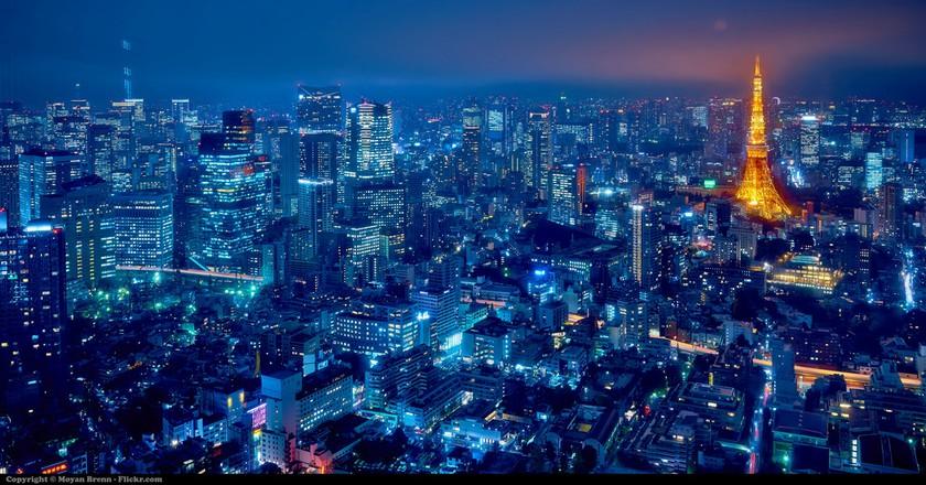Tokyo skyline | © Moyan Brenn / Flickr