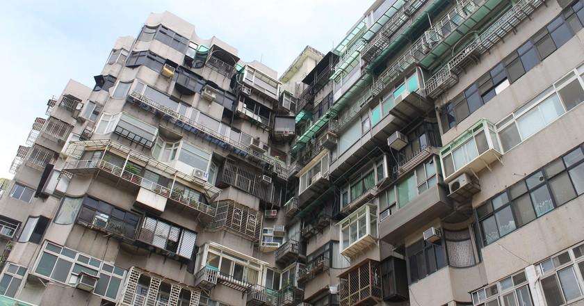 Taipei apartment building   ©  Connie Ma / Flickr