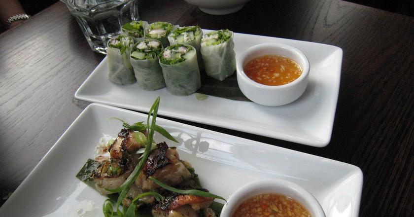 Unagi & Scallops at Chow