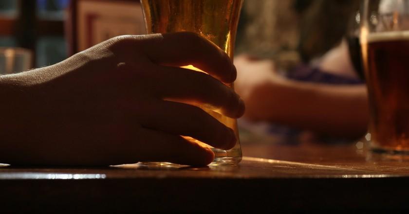 Pint In Hand   © Graham Campbell/Flickr