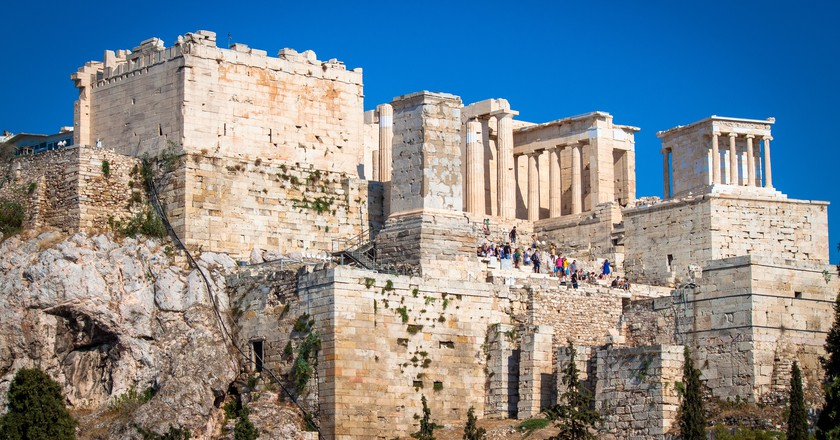 View of the Acropolis from Areopagus, Athens | © Andy Hay/Flickr