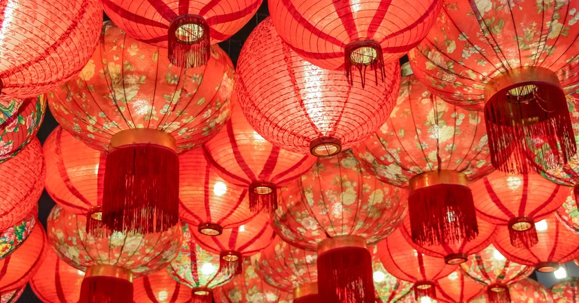 Chinese Lanterns| © Booky Buggy