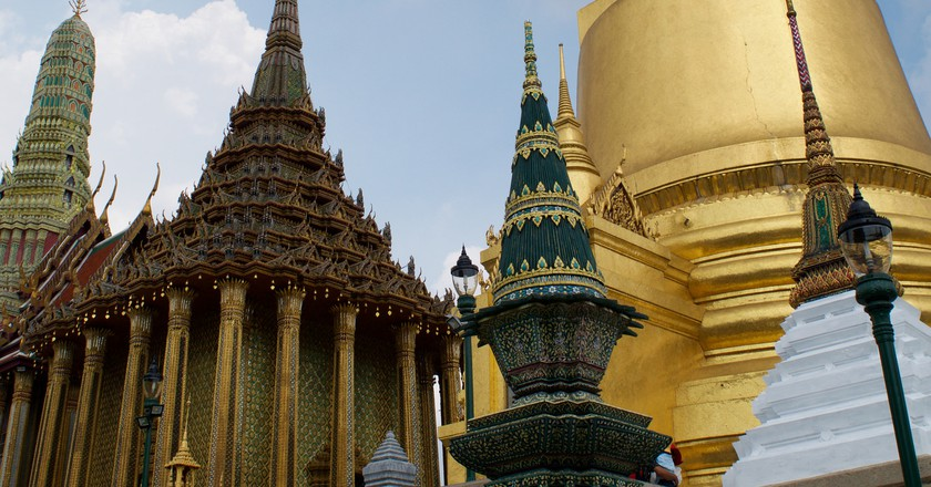 The Grand Palace in Bangkok Courtesy of Kelly Iverson