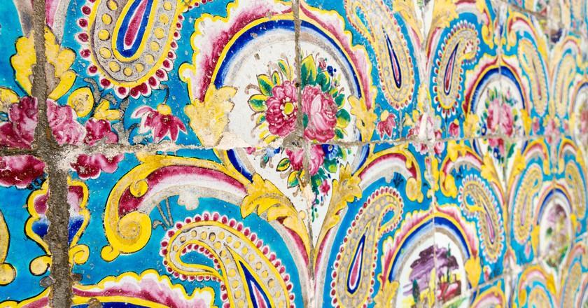 Tiles of Golestan Palace   © Matt Biddulph / Flickr
