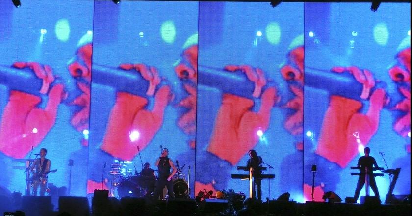 Depeche Mode Live in 2009 | © Matias Garabedian/Flickr
