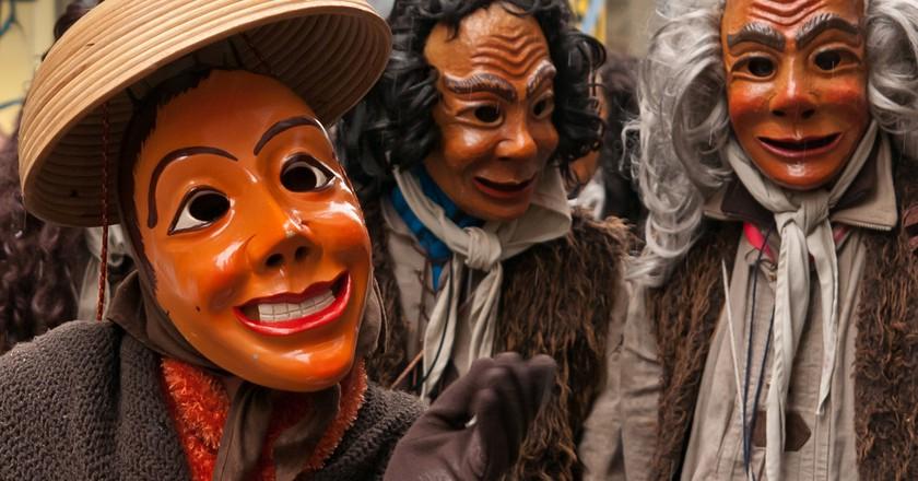 Masked celebration  |  ©LenDog64 / Flickr