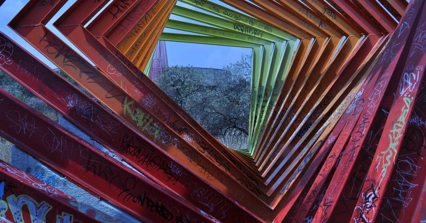 UNAM's Espacio Escultórico   © echelonbaxter@ymail.com/Flickr