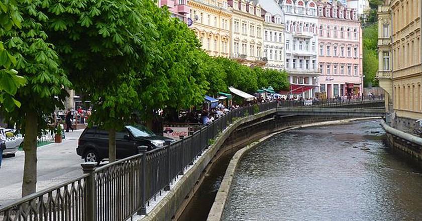 Downtown Karlovy Vary / ©Dudva / Wikimedia Commons