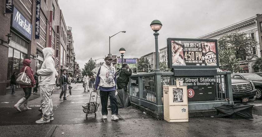 135th St in Harlem | © Matias Garabedian / Flickr
