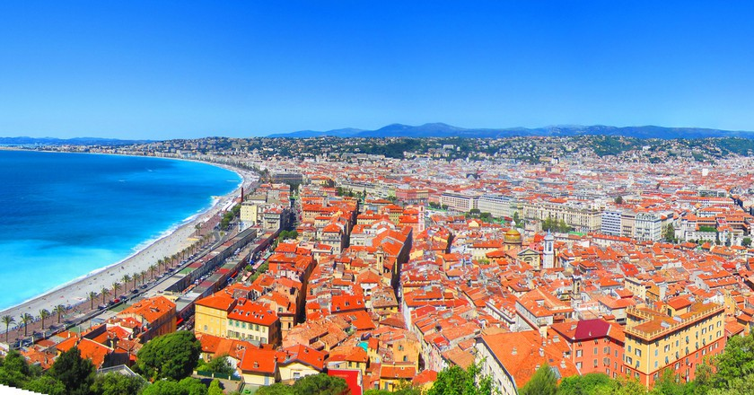 The panorama from Castle Hill, Nice | © Shann Yu/flickr