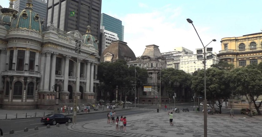Cinelandia square |© youtube