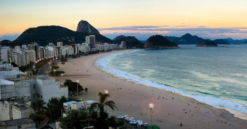 Copacabana, Rio de Janeiro, Brazil| ©Mauricio Lima/Flickr