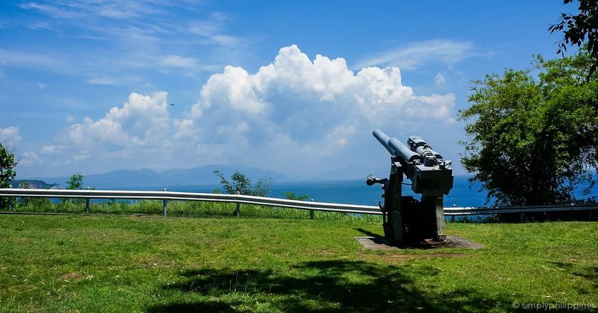 Cannon on Corregidor   © Esther de la Cruz