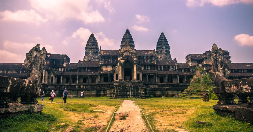 Angkor Wat temple is a major draw. Copyright RPBaiao / Shutterstock Inc