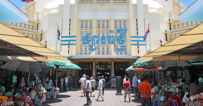 The Art Deco design that forms the hub of bustling Central Market