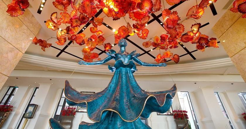 Dalnian Dancer by Salvador Dali   courtesy of MGM Macau