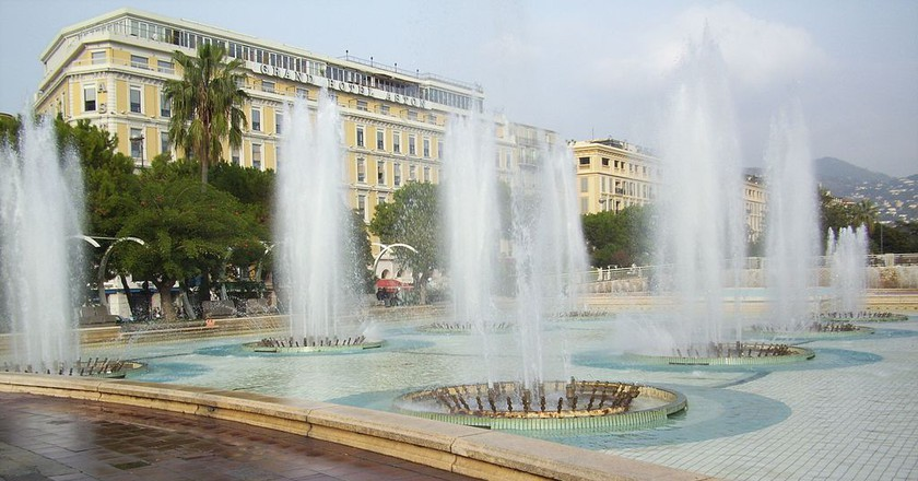 The Avenue Félix Faure and nearby gardens are a lovely place to stroll in Nice | © Alexdevil/WikiCommons