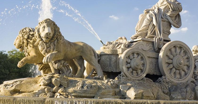 The famous Cibeles fountain and monument  | © Madrid Destino Cultura Turismo y Negocio